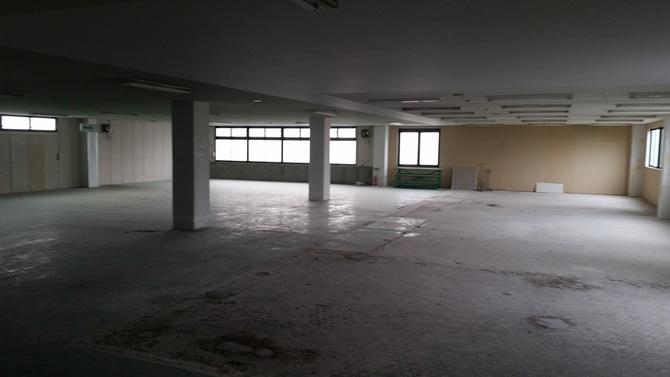 事務所兼倉庫内装工事