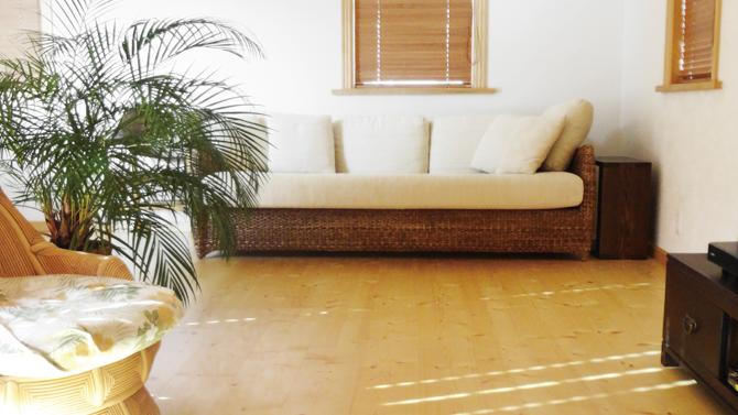 蓄熱式床暖房イメージ